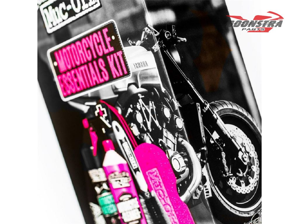 Muc-Off Cleaning Set Motorcycle Care Essentials Kit