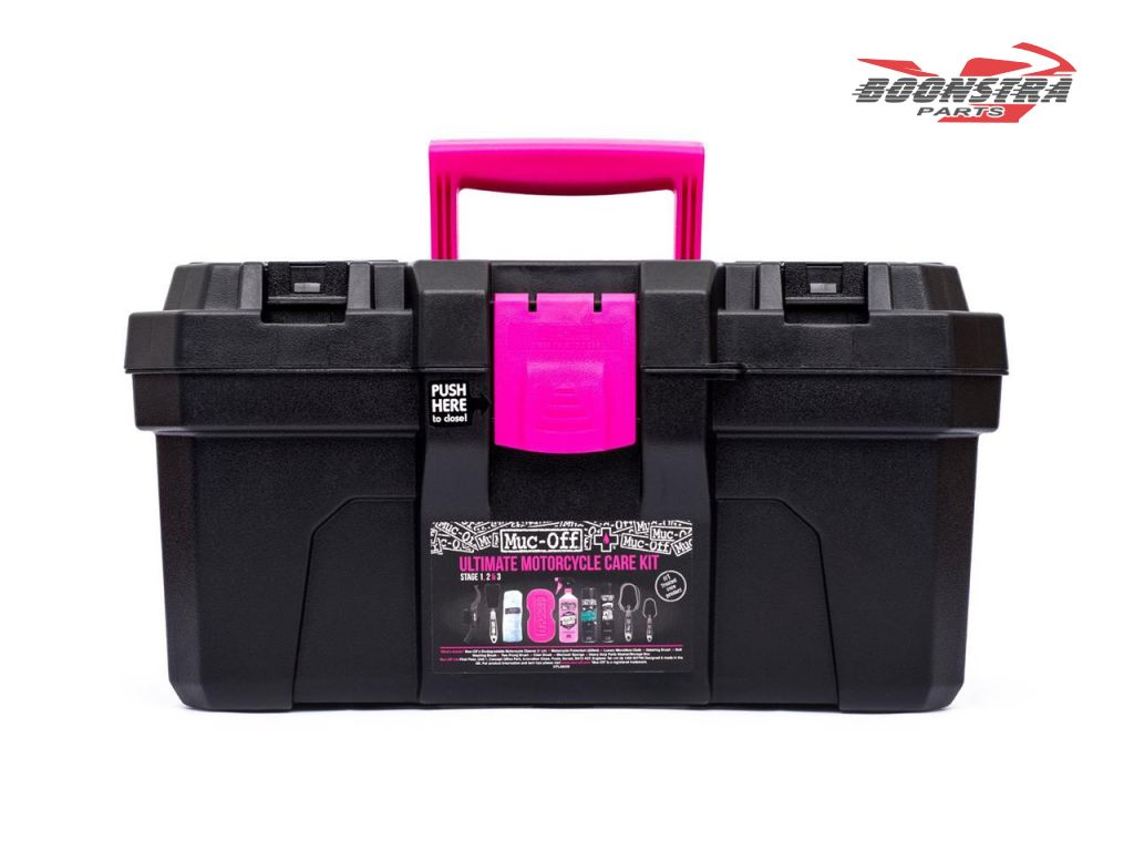 Muc-Off Cleaning Set Ultimate Motorcycle Care Kit