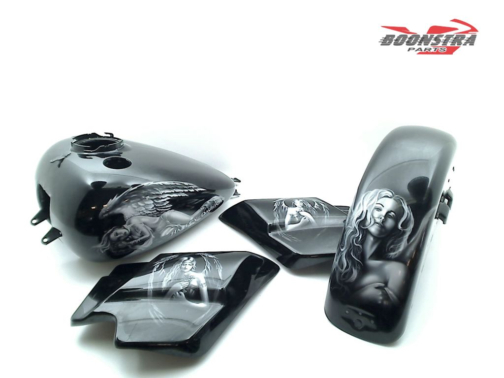 Harley Davidson Flhrc Road King Classic 2009 2013 Paint Set Boonstra Parts