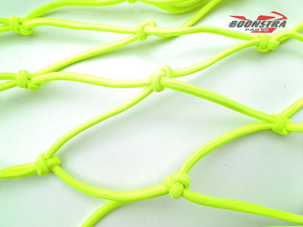 V-Parts Luggage Net Yellow with 6 Hooks