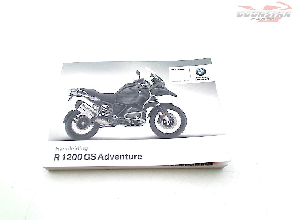 BMW R 1200 GS 2017-2018 (R1200GS 17 LC K50) Owners Manual